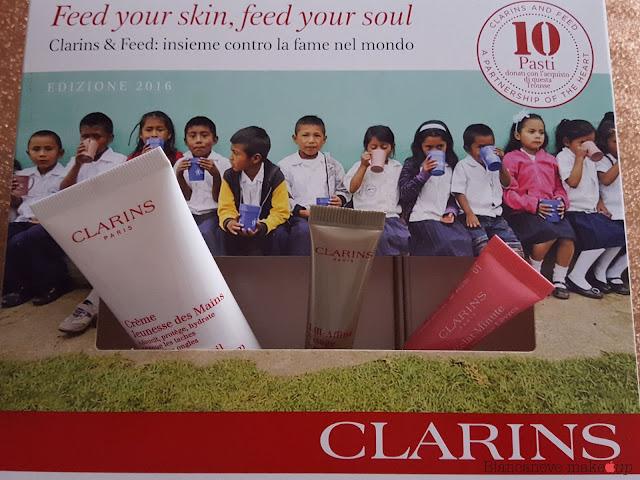 Clarins e Feed 2016