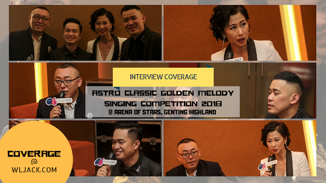 [Interview Coverage] Interviews With Top 3 Finalist and Sally Yeh Post-Event Astro Classic Golden Melody Singing Competition 2018 《Astro经典名曲歌唱大赛2018》国际总决赛
