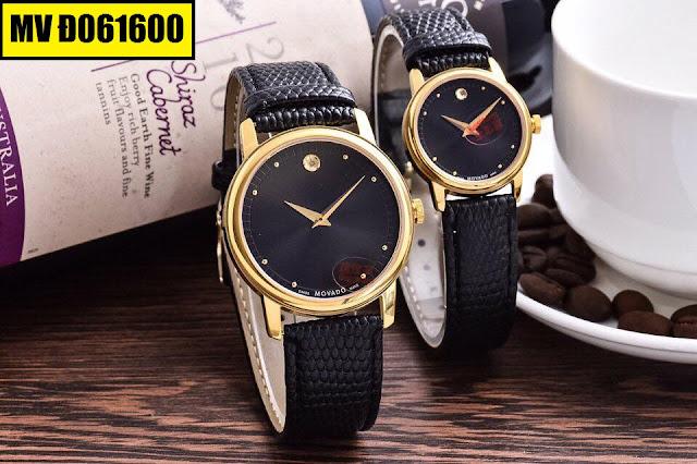 Đồng hồ dây da Movado D061600