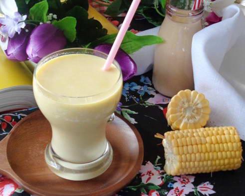 Sữa ngô dừa thơm mát