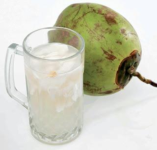 manfaat air kelapa hijau