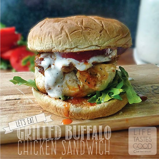 Grilled Buffalo Chicken Sandwich Recipe