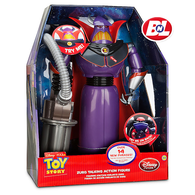 Welcome On Buy N Large Toy Story 2 Emperor Zurg Talking