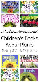 Montessori-inspired Children's Books About Plants