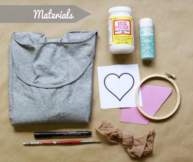 how to put material into a hoop hand embroidery