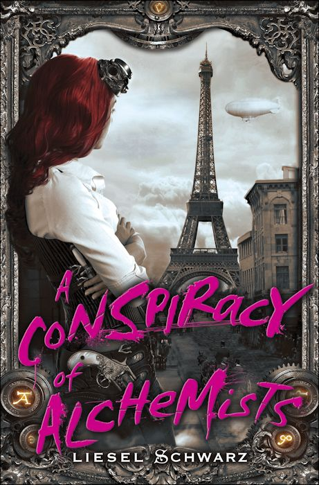 Interview with Liesel Schwarz, author of The Conspiracy of Alchemists - March 8, 2013
