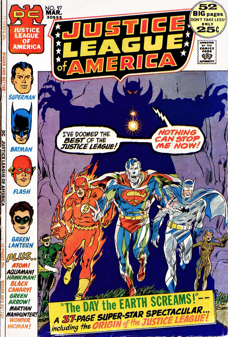 Justice League of America (1960) 97 Page 1