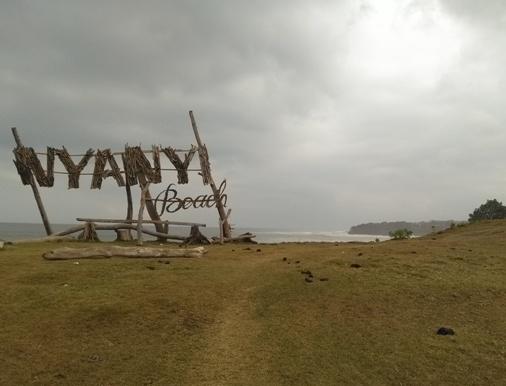 Nyanyi Beach Tabanan, Nyanyi Beach Surf, Pantai Nyanyi Tabanan Bali
