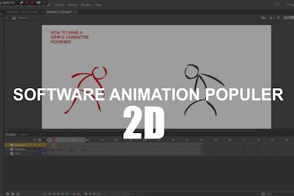 3 Software Populer Untuk Membuat ANIMASI Untuk Windows di PC