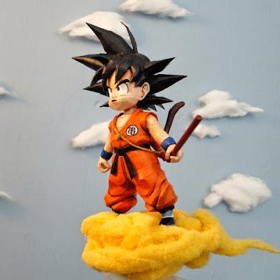 Kid Goku Papercraft