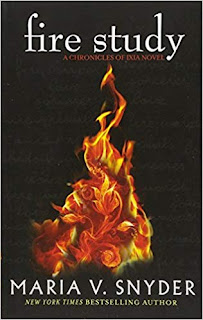 fire study, chronicles of ixia, maria v snyder, book review, fire study book review,