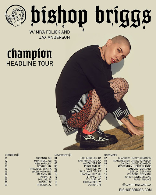 MusicTelevision.Com music videos by Bishop Briggs for her songs Champion and Tattooed On My Heart. #MusicTelevision #BishopBriggs