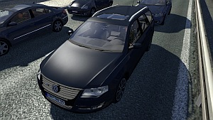 VW Passat Variant car for traffic