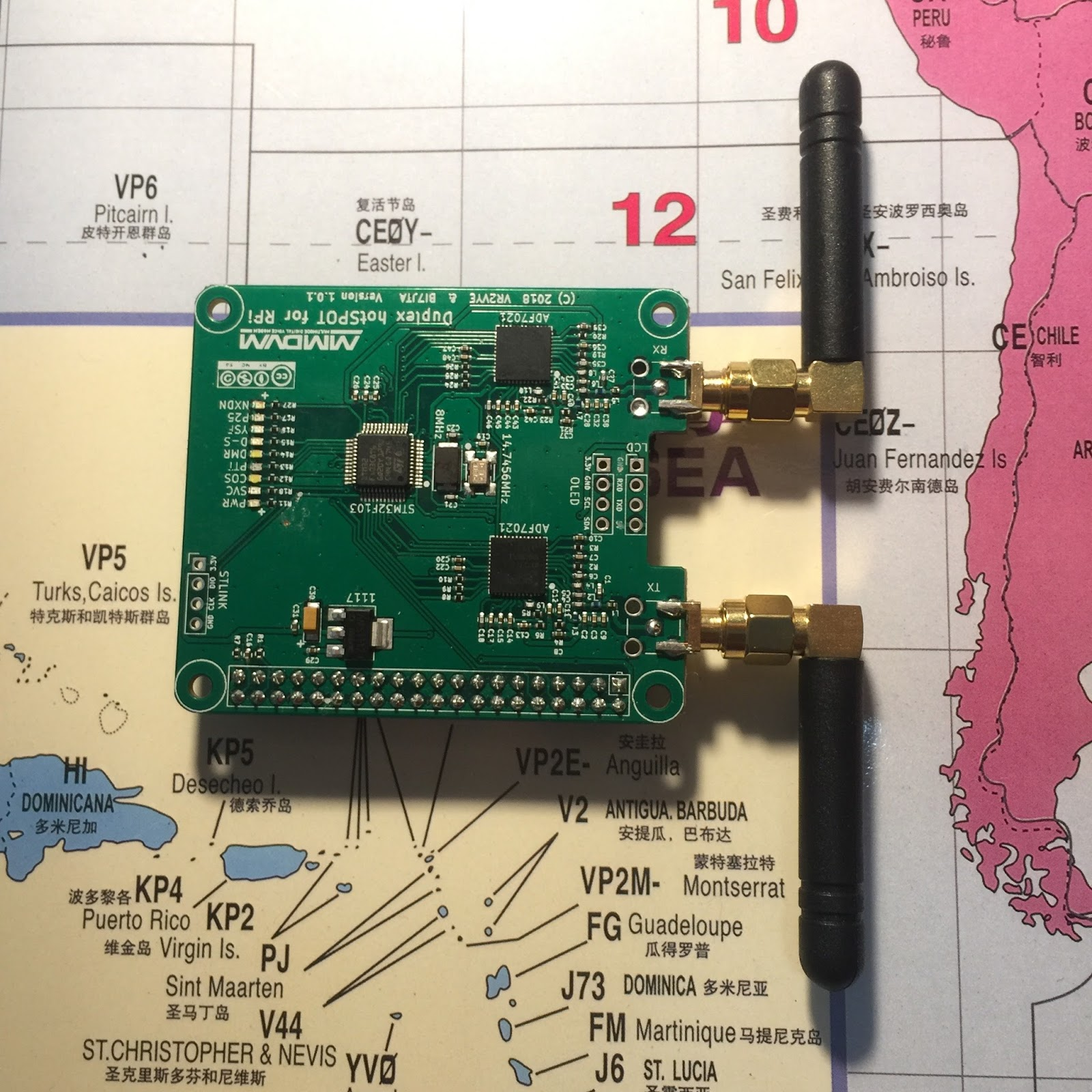 BI7JTA BLOG for MMDVM: All product and my Amateur Radio Toys