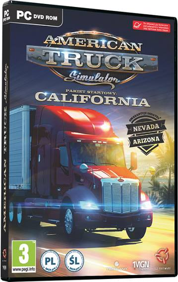 American Truck Simulator 2016 California Free Download