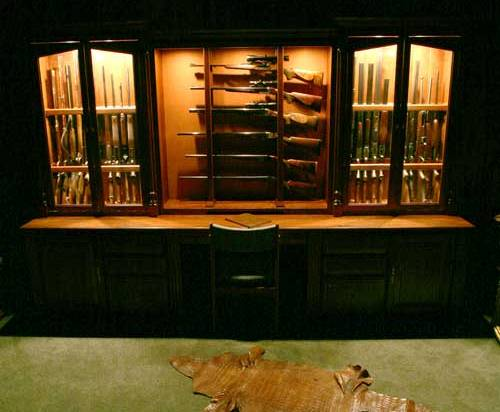 Arthur, IL  Amish handcrafted gun cabinets