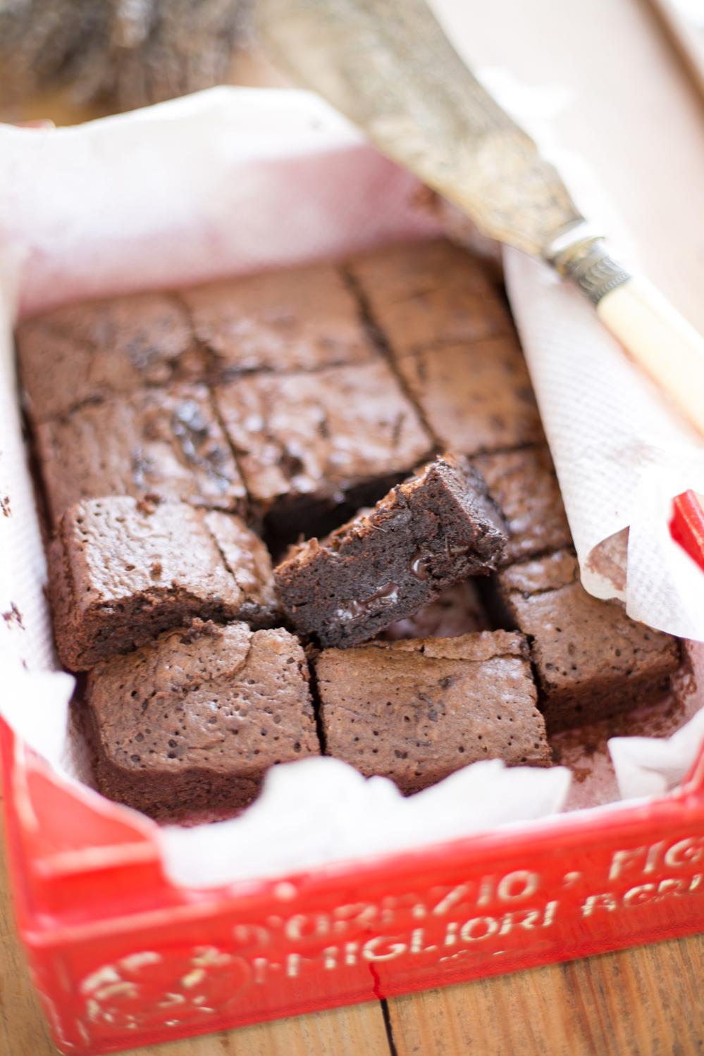 La Cocina De Carolina Receta Del Brownie Clásico