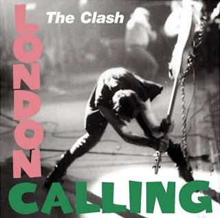 Portada de London Calling de The Clash (1979)