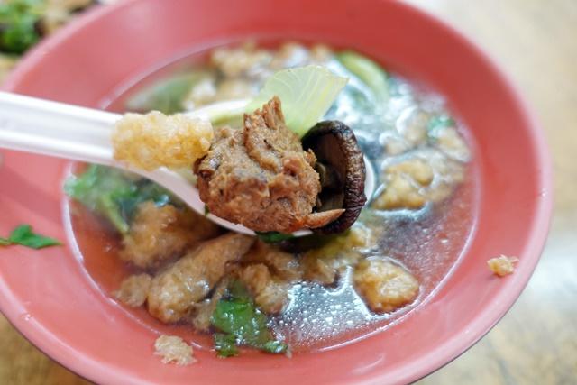 素食麵飯香菇素肉羹