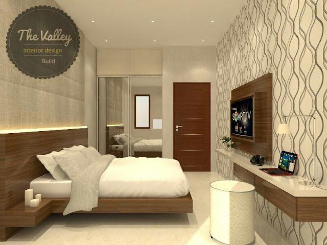 Desain Interior Kamar Tidur Rumah Mewah 03  - The Valley Interior Design