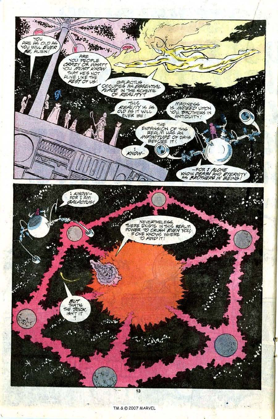 Read online Silver Surfer (1987) comic -  Issue #9 - 20