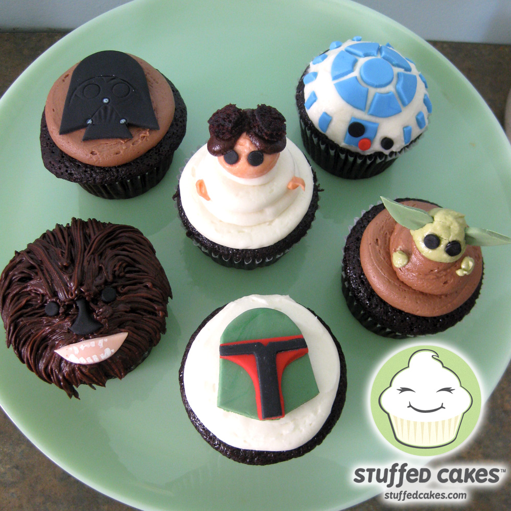 Stuffed Cakes The Force Is Strong With These Star Wars