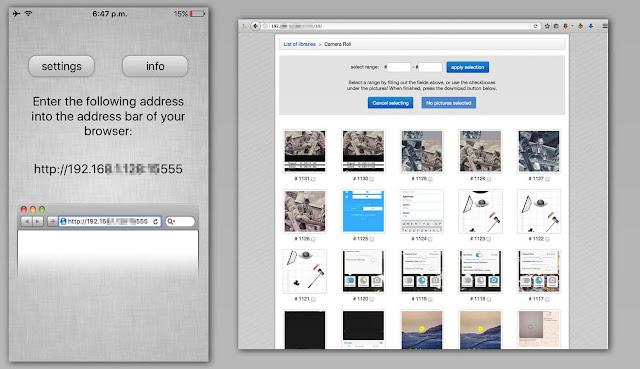 Aplikasi wajib bagi para penghobi fotografi - WiFi Photo Transfer