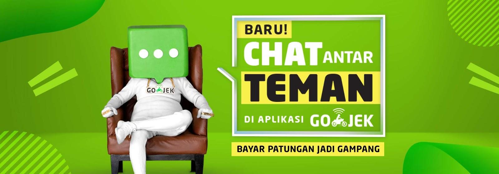 Patungan Lebih Gampang Dengan Fitur Chat Baru di Aplikasi Gojek