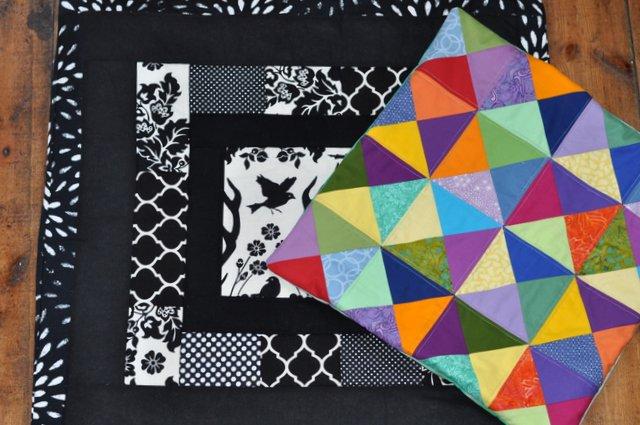poduszki patchworkowe