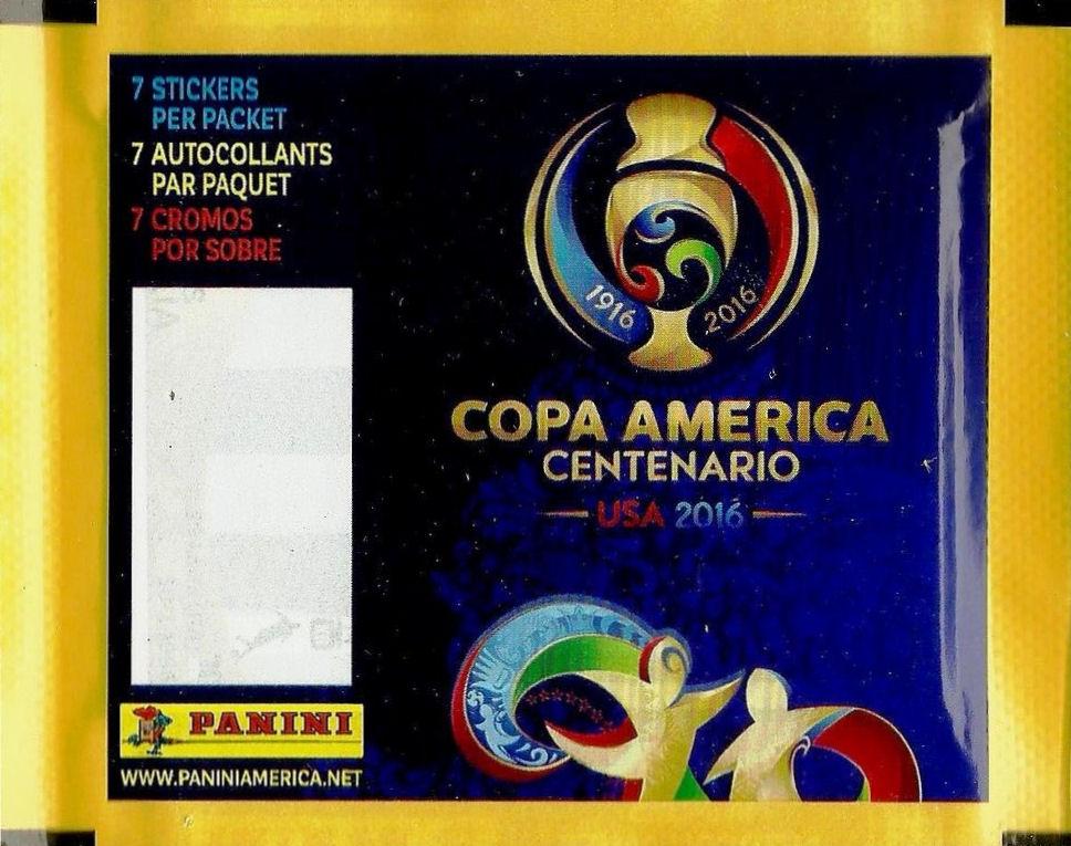 Panini COPA AMERICA CHILE 2015-20 TÜTEN PACKETS SOBRES BUSTINE POCHETTES