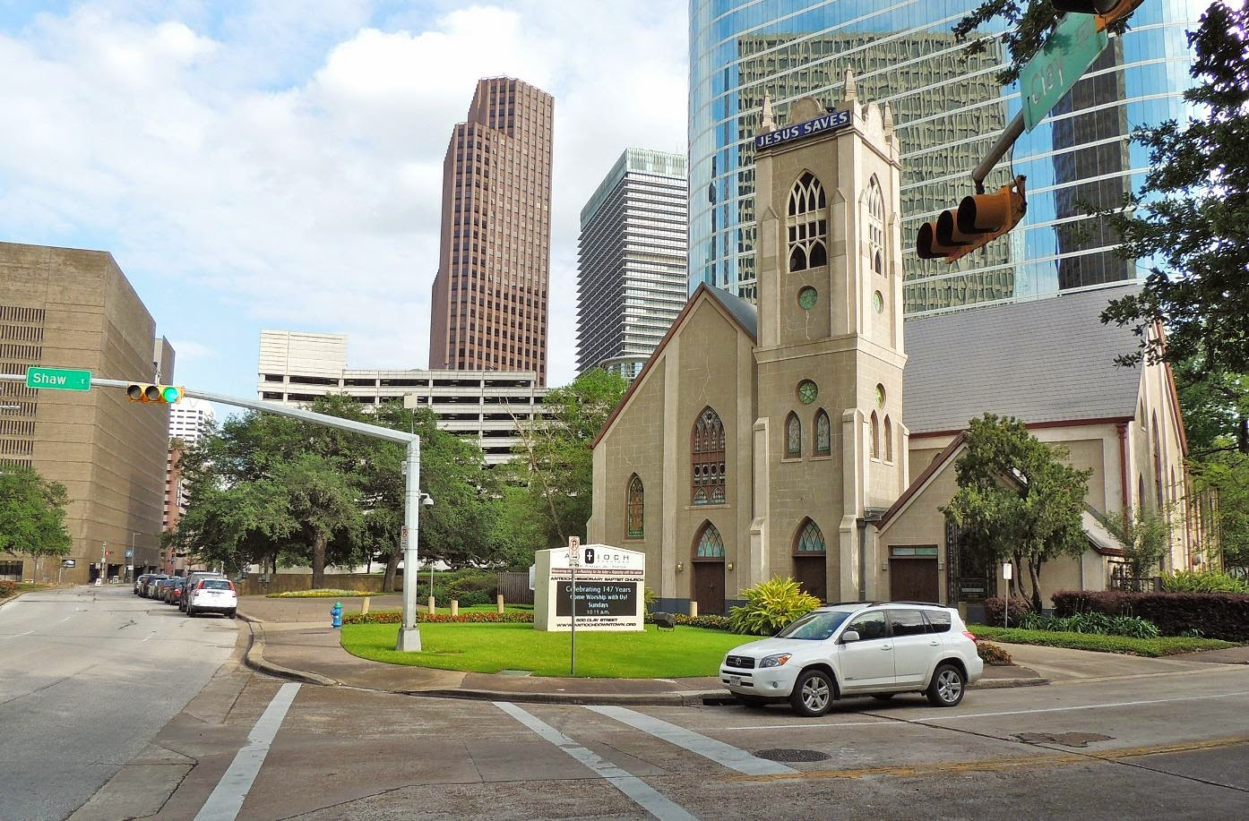 Antioch Baptist Missionary Church in Downtown Houston