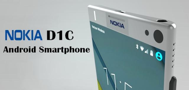 مواصفات هاتف Nokia D1C بنظام الأندرويد 7.0 Nougat
