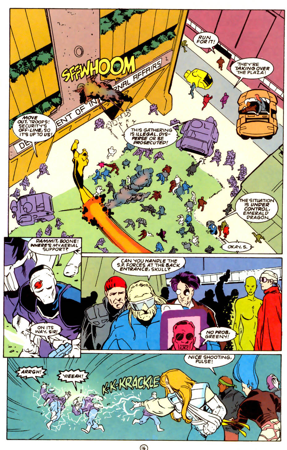 Legion of Super-Heroes (1989) 56 Page 16