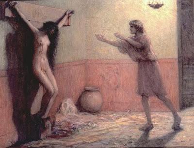 Mujeres crucificadas  Crucified women collin
