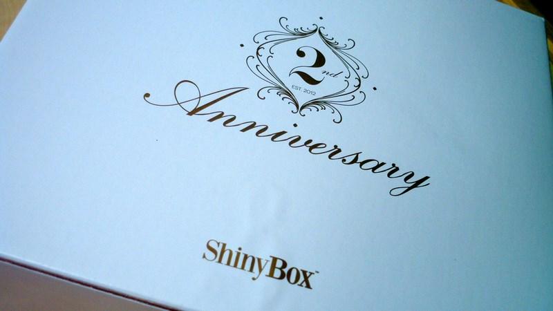 Urodzinowe pudełko ShinyBox Anniversary + ROZDANIE