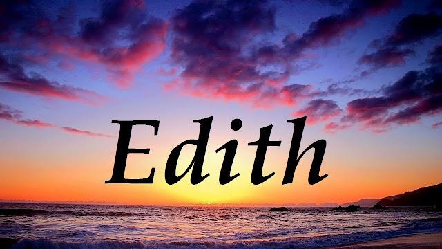 Significado de Nombre EDITH