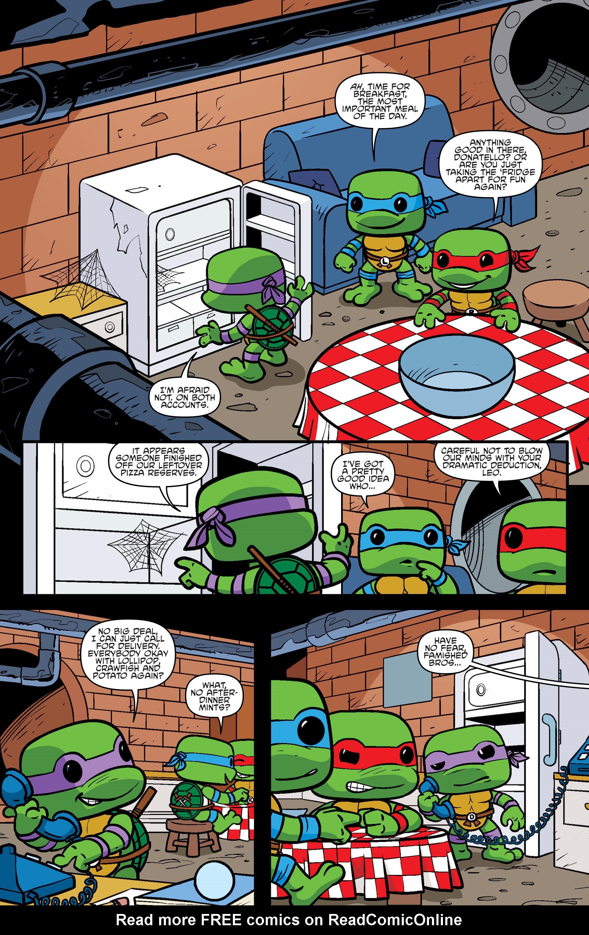 Read online Teenage Mutant Ninja Turtles Universe comic -  Issue #11 - 30