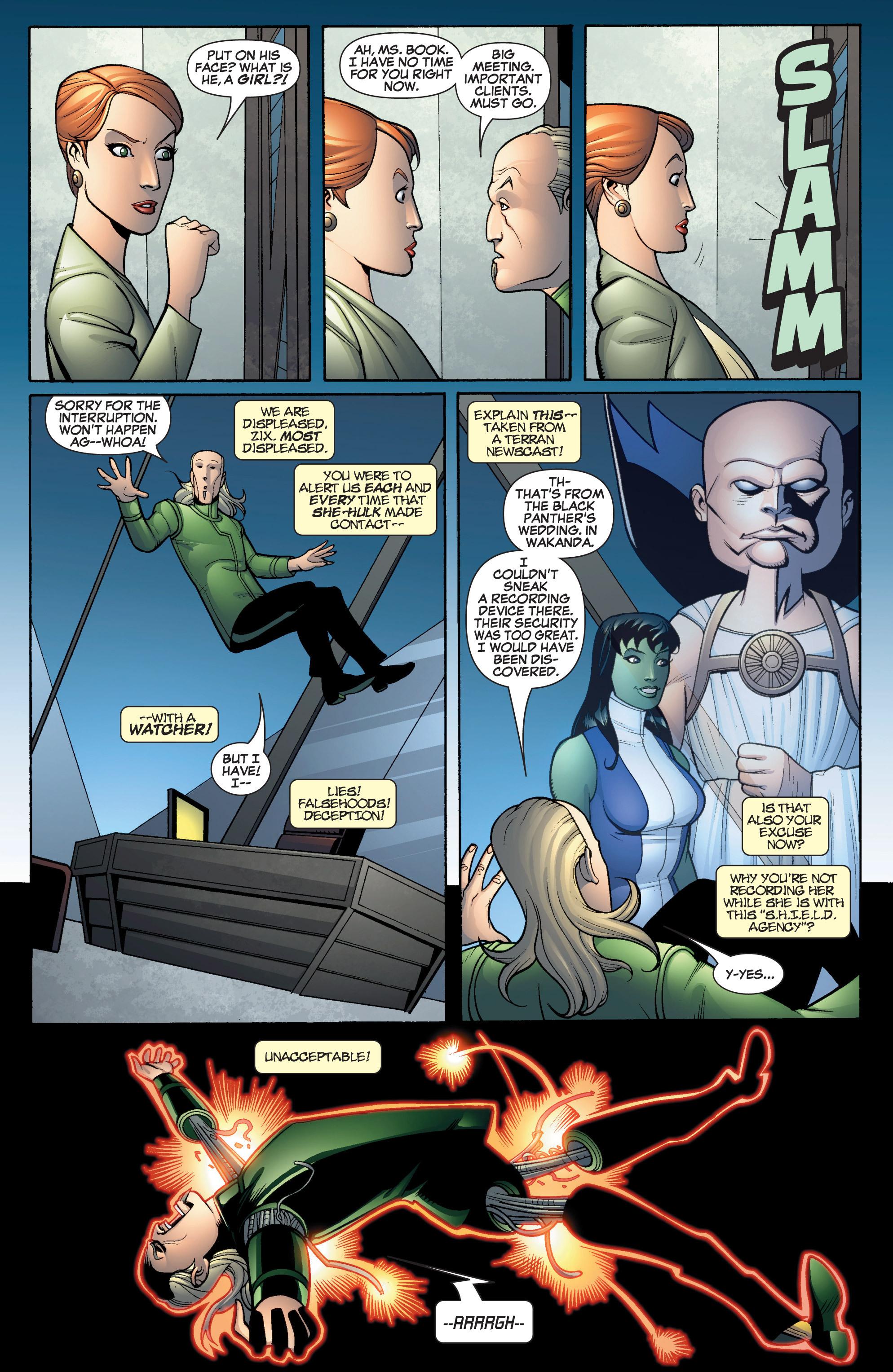 Read online She-Hulk (2005) comic -  Issue #16 - 11