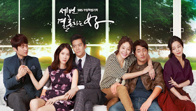 Sinopsis dan Pemain Drama Korea The Woman Who Married Three Times