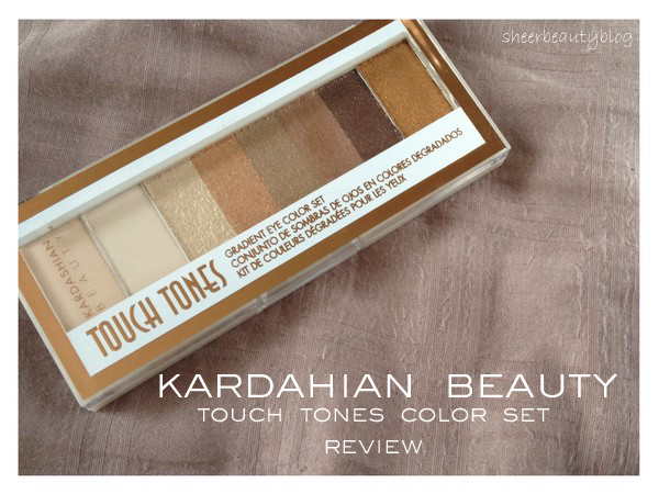 picture of kardashian beauty touch tone eye shadow palette