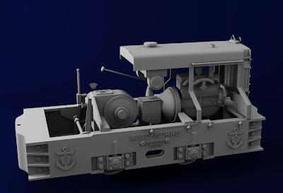 加藤3トン内燃機関車