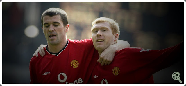 Roy Keane Paul Scholes Manchester United