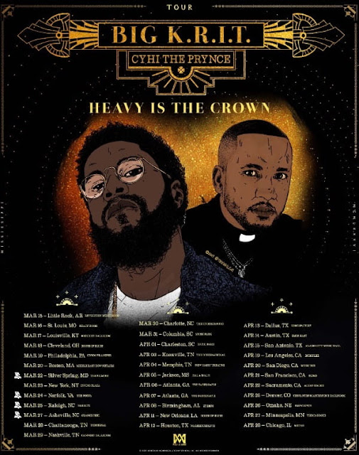 "HEAVY IS THE CROWN "" 2018 National Tour"