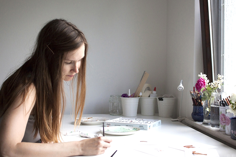 ILLUSTRATOR MONDAY ☆ Nina Stajner