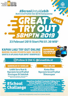 Try out sbmptn 2019