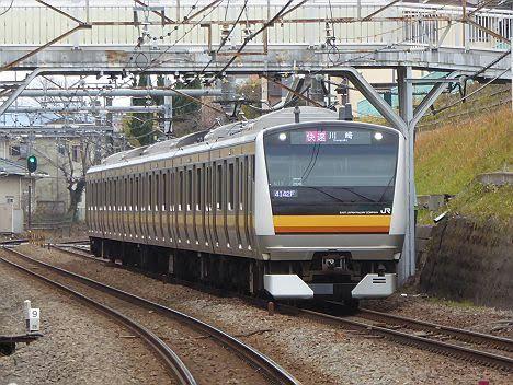 南武線 快速 川崎行き2 E233系