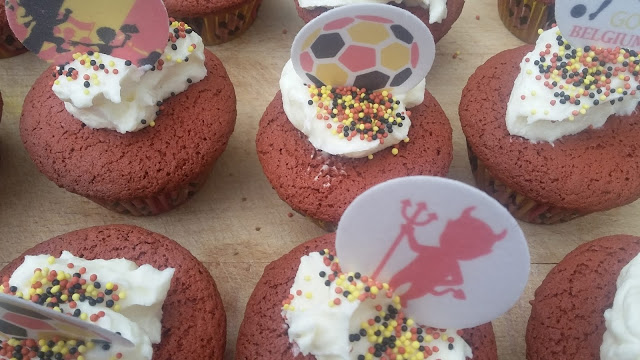 voetbal cupcakes aveve