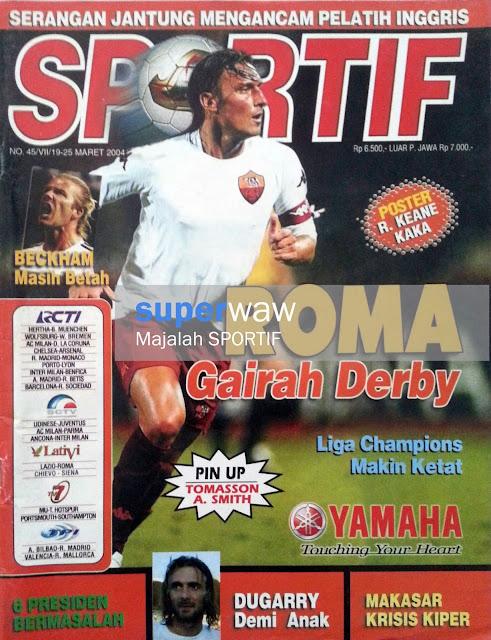 Majalah SPORTIF: ROMA Gairah Derby