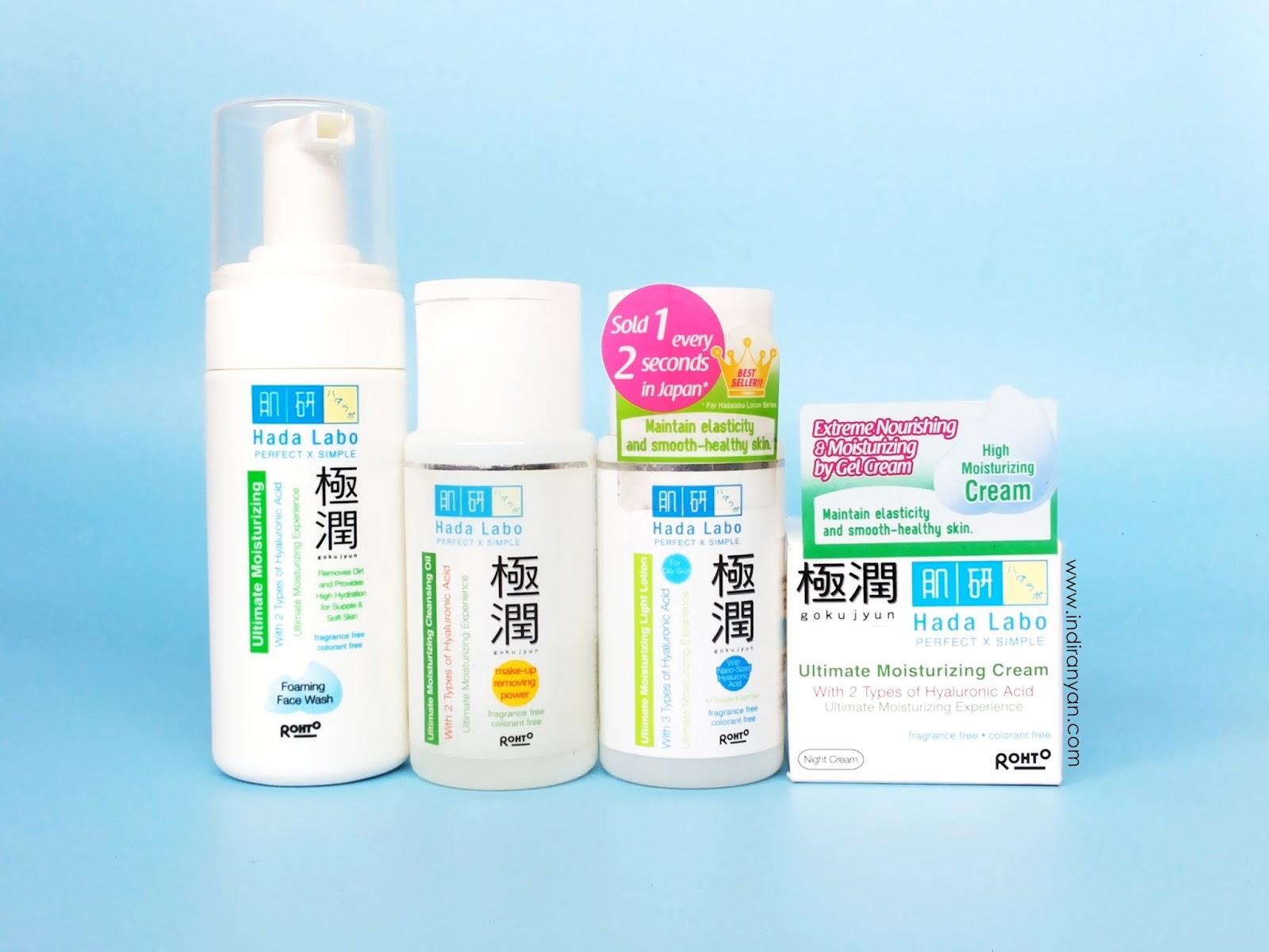 hadalabo-gokujyun-series, hadalabo-moisturizing-series, produk-hadalabo-untuk-melembabkan