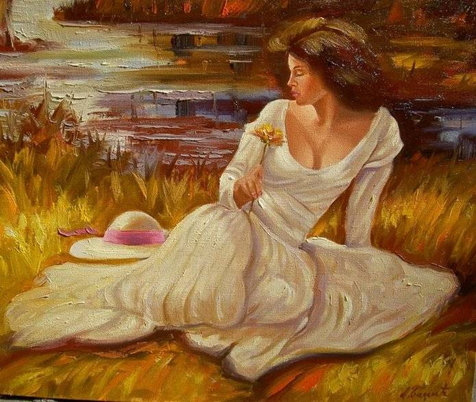 Сербский художник. Badzic Miomir